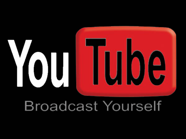 youtube logo black